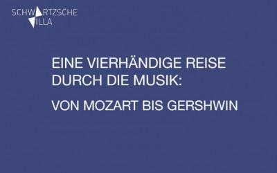 Eine vierhändige Reise durch die Musik: Von Mozart bis Gershwin Klavierduo Gémeaux – Konzert in Berlin